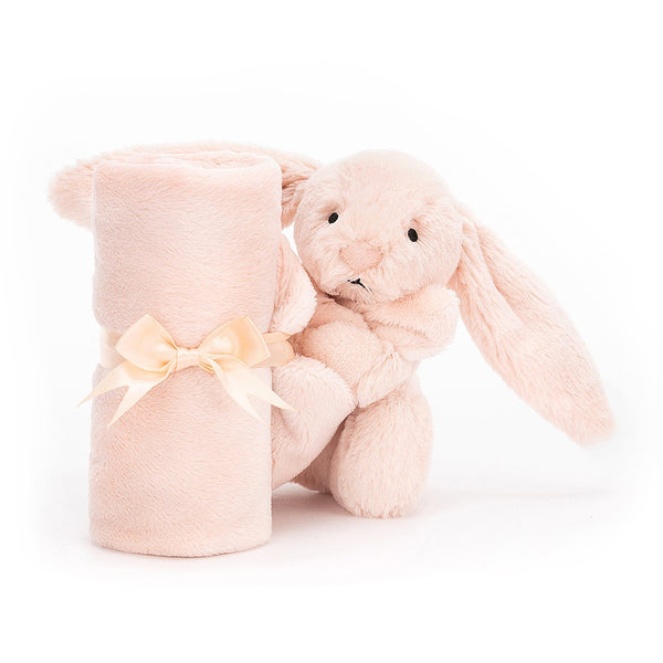 Bashful Blush Bunny Soother - Dimples Baby Brooklyn