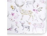 Woodland Fawn Crib Sheet - Dimples Baby Brooklyn
