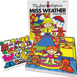 Retro Miss Weather Colorforms - Dimples Baby Brooklyn