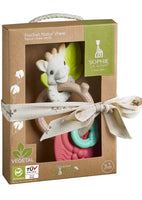 Sophie La Girafe So'pure Natur'chew rattle - Dimples Baby Brooklyn