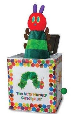 The Very Hungry Caterpillar Jack-in-the-Box - Dimples Baby Brooklyn