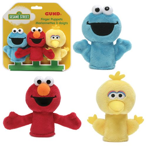 Sesame Street Finger Puppets - Dimples Baby Brooklyn