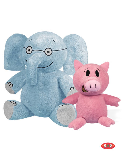 Elephant & Piggie Soft toy pair - Dimples Baby Brooklyn