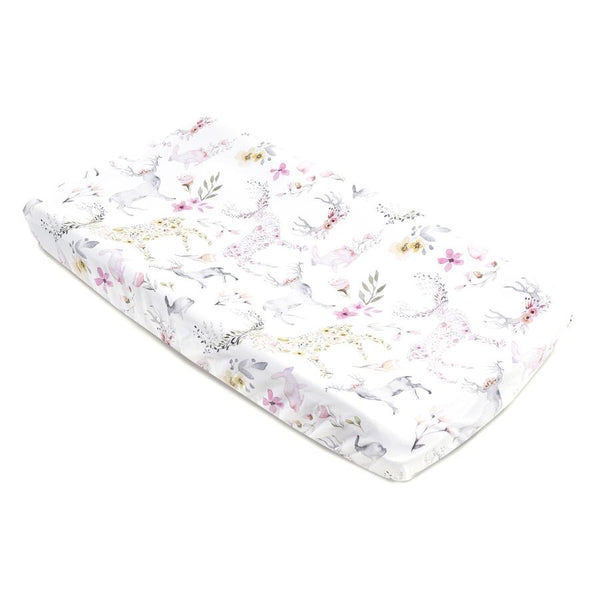 Fawn Changing Pad Cover - Dimples Baby Brooklyn