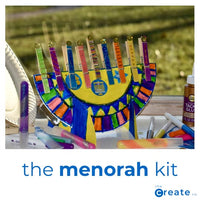 The Menorah Kit - Dimples Baby Brooklyn
