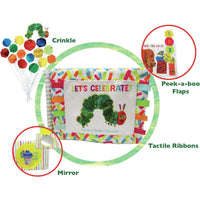 The Very Hungry Caterpillar 50th Birthday Oversized Soft Book - Dimples Baby Brooklyn