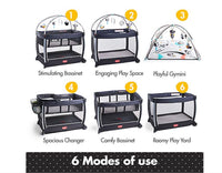 6 in 1 Here I Grow activity Play Yard - Dimples Baby Brooklyn