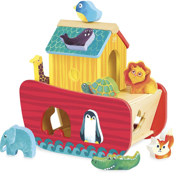 Animals Ark Shape Sorter - Dimples Baby Brooklyn