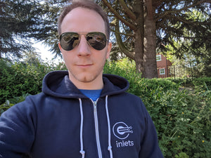 Inlets Embroidered Hoodie (Not in EU)