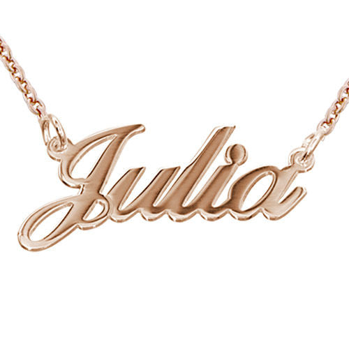 Offer Personalized Classic Name Necklace