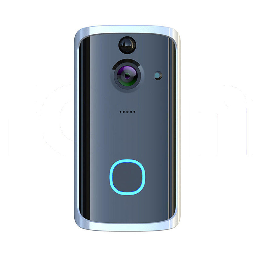 Wireless Smart Video Doorbell for Home WiFi Two-way Audio Remote Security