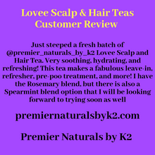 Load image into Gallery viewer, Lovee Scalp & Hair Teas