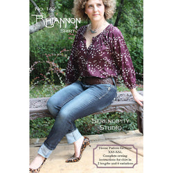 Serendipity - The Rhiannon Shirt Pattern
