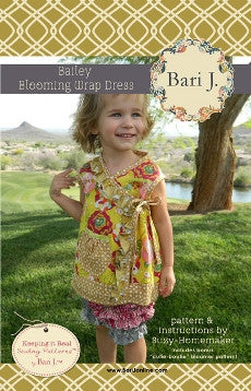 Bari J - Bailey Blooming Wrap Dress Pattern