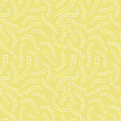 Field Day Collection - Sprout Citron -  Organic Cotton Double knit Interlock