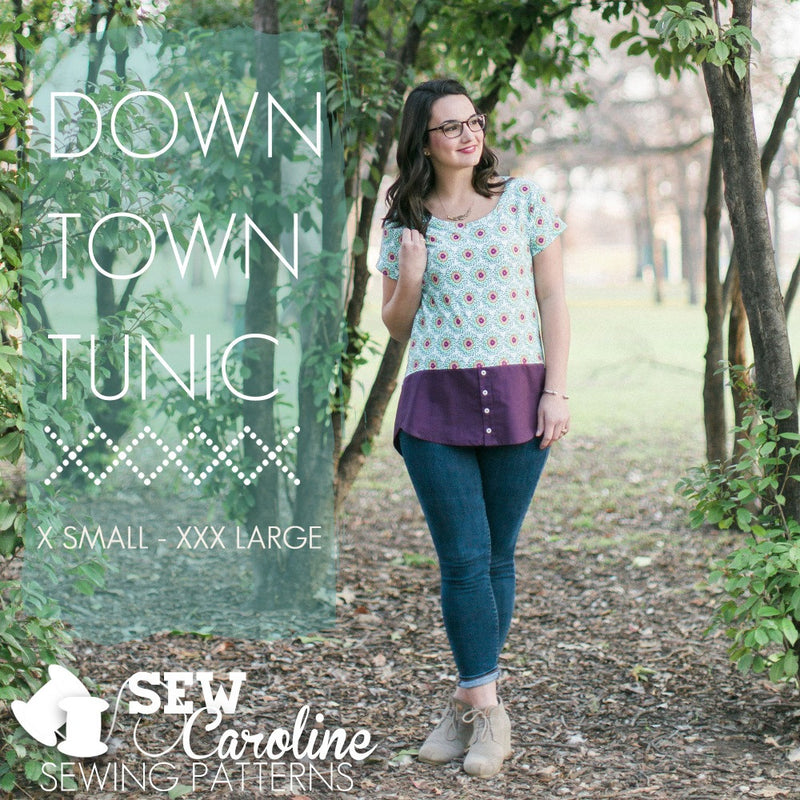 Sew Caroline - Downtown Tunic