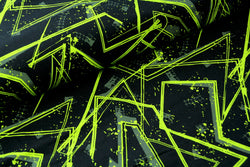 Street Art Neon - Organic Cotton Sweatshirting