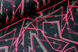 Street Art Pink - Organic Cotton Sweatshirting