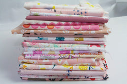 Fat Quarter Bundle - Quilting Cotton - Pink (20 Fat Quarters)