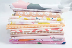 Fat Quarter Bundle - Quilting Cotton - Pink (14 Fat Quarters)