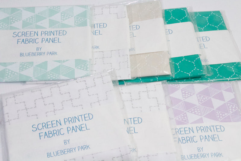 Fat Quarter Bundle - Quilting Cotton - Handprinted by Karen Lewis