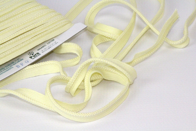 Piping - Organic Cotton - Light Yellow