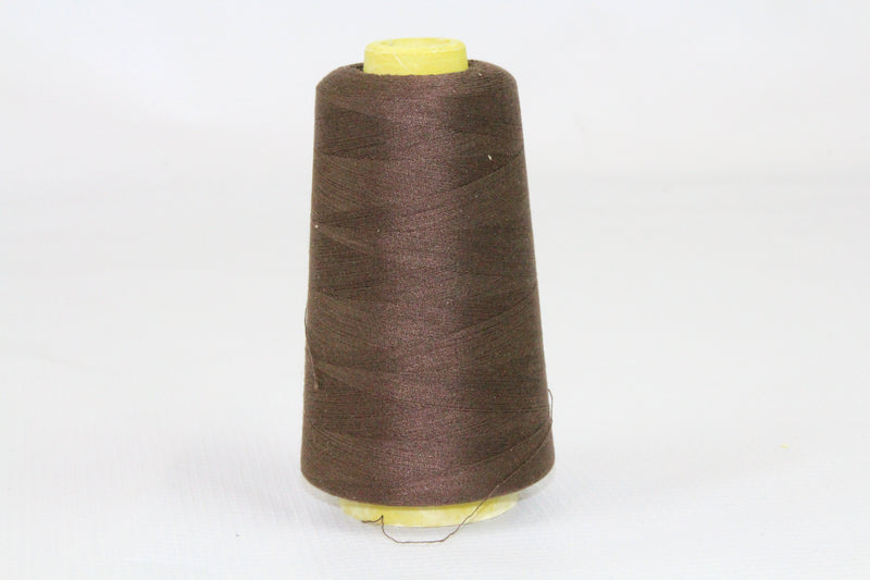 Thread | Overlocker Thread | Polyester | Chocolate