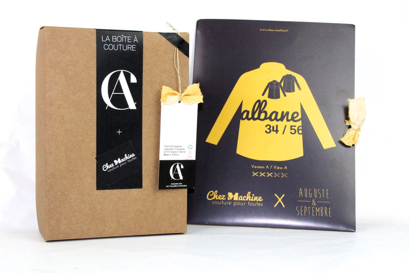 Sewing Kit - Albane Shirt - Safran