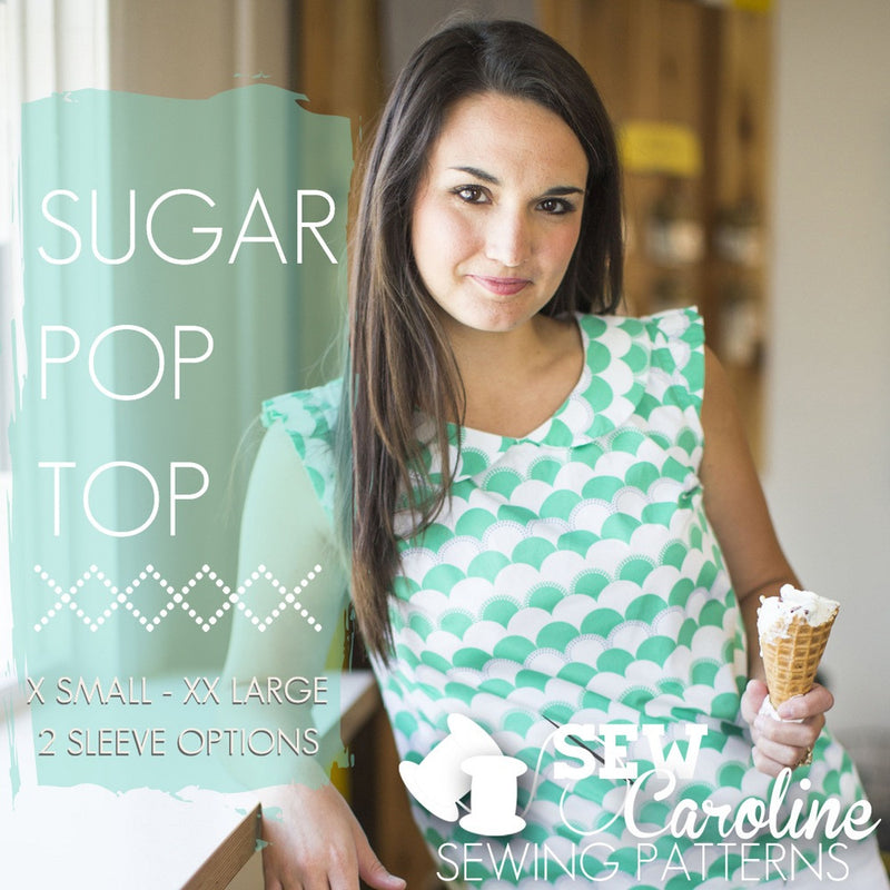 Sew Caroline - Th Sugar Pop Top