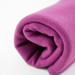 End of Roll - 225cm - Mauve - Organic Cotton Ribbing