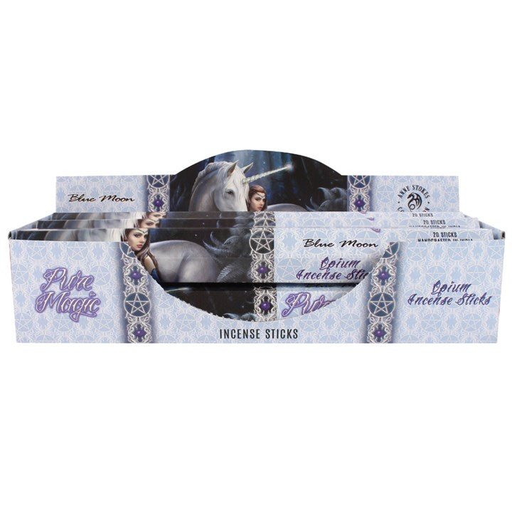 Blue Moon Incense Sticks by Anne Stokes - Happy Emo
