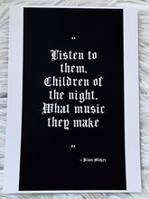 Load image into Gallery viewer, Bram Stoker A5 Quote Print - Happy Emo