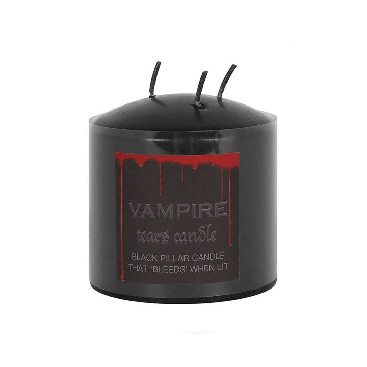 Vampire Tears Pillar Candle 7.5cm