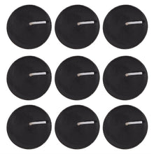 Load image into Gallery viewer, Pack of 9 Opium Scented Black Tealights - Happy Emo