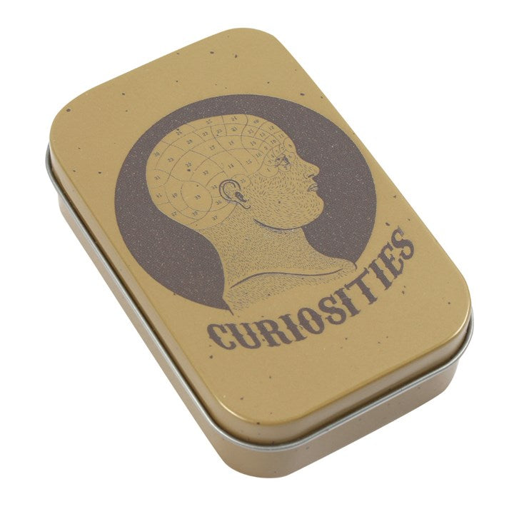 Curiosities Metal Tin - Happy Emo