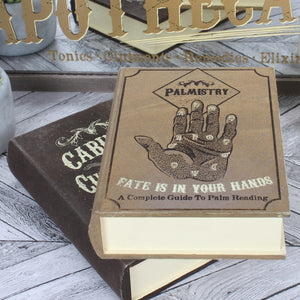 Palmistry Storage Book Box - Happy Emo