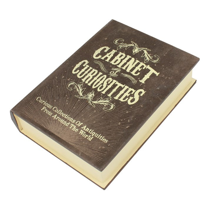 Curiosities Storage Book Box - Happy Emo