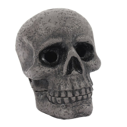 Skull Incense Cone Holder - Happy Emo