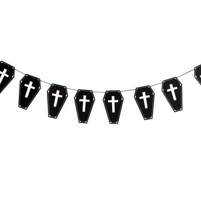 Coffin Bunting Banner
