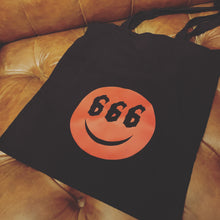 Load image into Gallery viewer, Devil's Grin Tote Bag