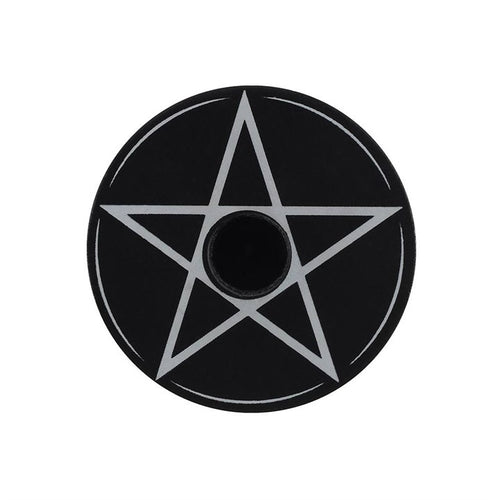 Pentagram Spell Candle Holder - Happy Emo