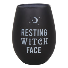 Load image into Gallery viewer, Resting Witch Face Stemless Wine Glass - Happy Emo