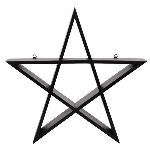 Pentagram Shelf - Happy Emo