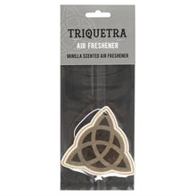 Load image into Gallery viewer, Triquetra Vanilla Scented Air Freshener