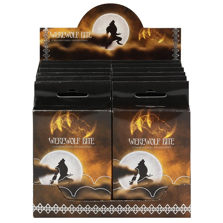 Werewolf Bite Incense Cones - Happy Emo