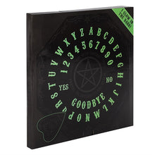 Load image into Gallery viewer, Glow in the Dark Octagon Spirit Board - Happy Emo
