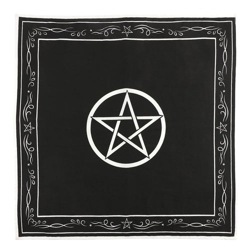 Pentagram Altar Cloth - Happy Emo
