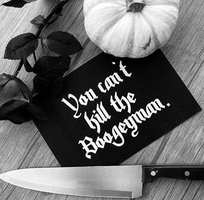 Halloween - You can't kill the Boogeyman Print - Happy Emo