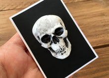 Load image into Gallery viewer, Clay Skull Badge - Happy Emo