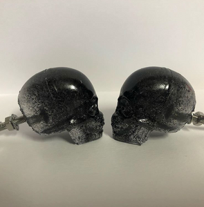 Skull Knobheads (pack of 2) - Happy Emo